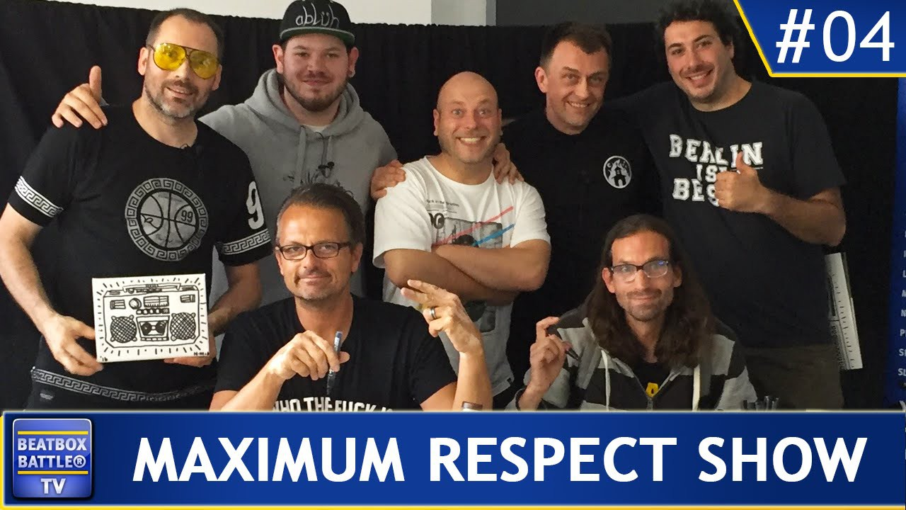 Maximum Respect #04 – Bas2, 4xSample, Nomad, Lino, Shek